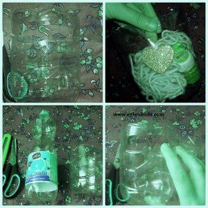 Pet Şişe ile Minyatür Çanta Yapımı Resimli Anlatım