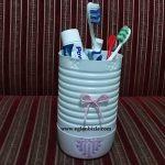 Ayran Kabı ile Diş Fırçalığı Yapımı