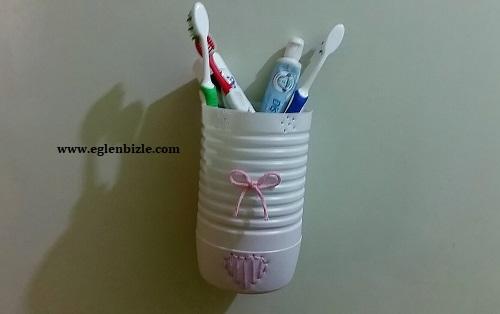 Evde Diş Fırçalık Yapımı-1