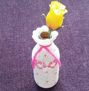 Şurup Şişesinden Vazo