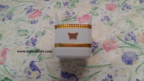Deterjan Kabından Dekoratif Sepet