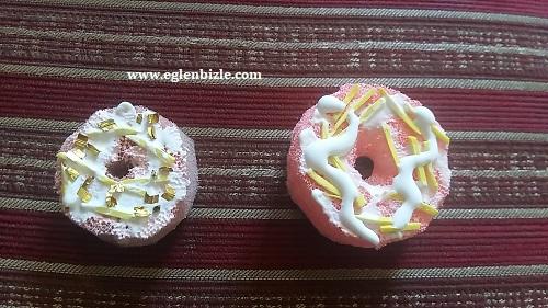 Süngerden Donut Magnet Yapımı-1