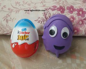 Sürpriz Yumurta Kabından Kukla Yapımı