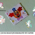 Çocuk Odası için Dekoratif Süs Yapımı