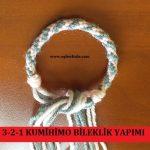 3-2-1 Kumihimo Bileklik Yapımı