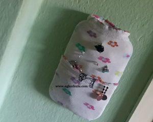 Plastik Kapak ve Çorap ile Takı Organizeri Yapımı