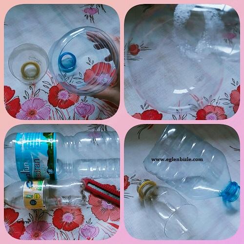 Pet Şişeden Köpük Balon Yapımı Resimli Anlatım