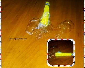 Pipetten Köpük Baloncuk Oyuncağı Yapımı