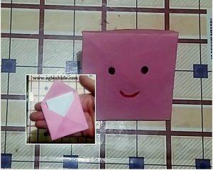Kağıttan Zarf Nasıl Yapılır