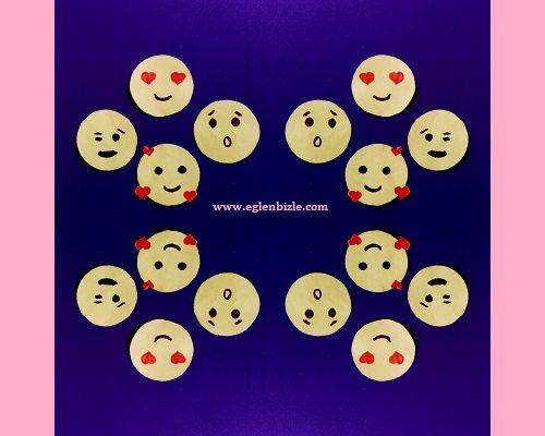 Kağıttan Emoji Sticker Yapımı