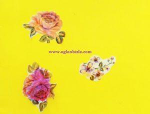 Çiçekli Sticker
