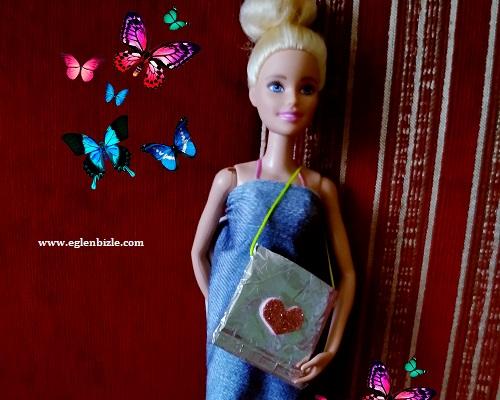 Barbie Bebek için Çanta Yapımı