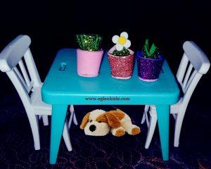 Eva ile Minyatür Çiçek Saksısı Yapımı