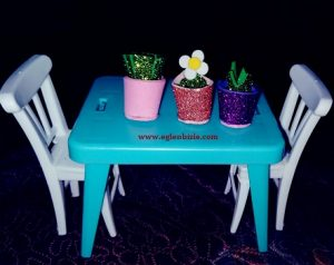 Minyatür Çiçek Saksısı