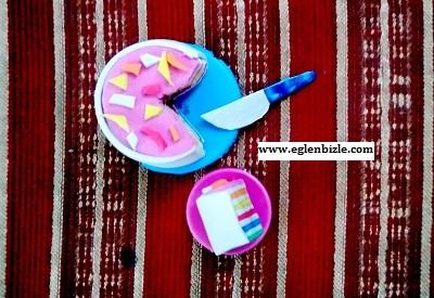 Minyatür Gökkuşağı Pasta