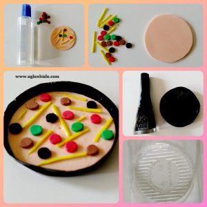 Barbie Bebek için Pizza Yapımı Resimli Anlatım