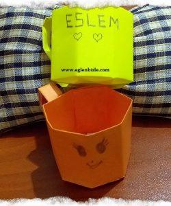 Origami Fincan