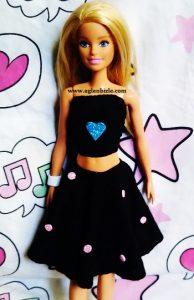 Barbie için Elbise