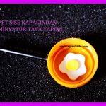 Pet Şişe Kapağından Minyatür Tava Yapımı