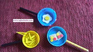 Barbie için Minyatür Tava