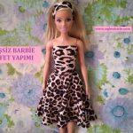 Dikişsiz Barbie Kıyafet Yapımı