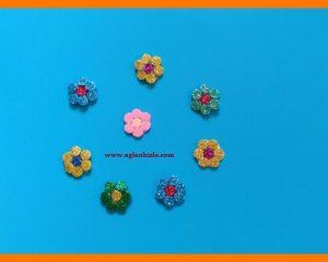 Eva ile Çiçek Sticker Yapımı