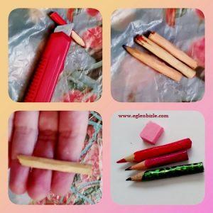 Minyatür Kalem ve Silgi Yapımı Resimli Anlatım