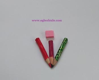 Minyatür Kalem ve Silgi