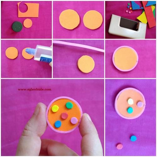 Minyatür Pop İt Yapımı Resimli Anlatım