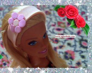 Barbie için Kolay Saç Bandı Yapımı