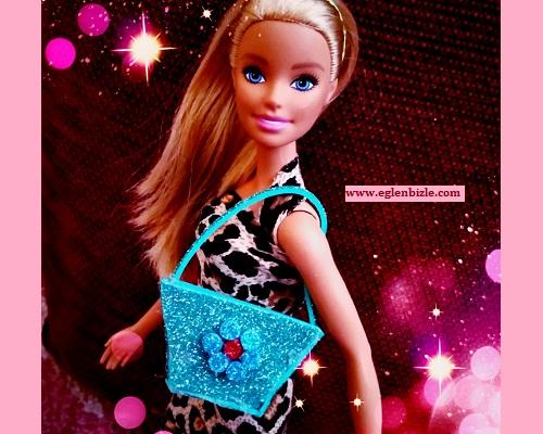 Barbie için Eva ile Çanta Yapımı