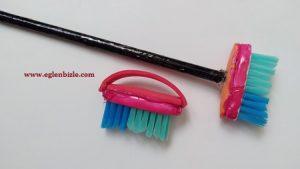 Minyatür Temizlik Fırçası