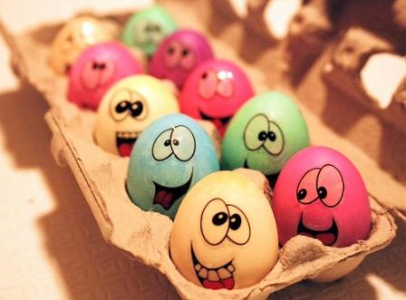 Yumurta Kabuğu Süsleme Eğlen Bizle