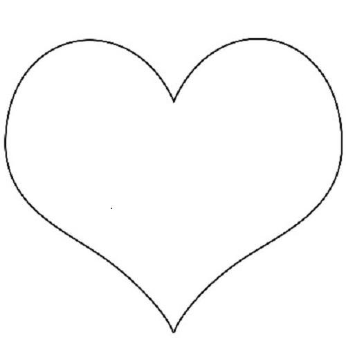 Kalp şablonu Eğlen Bizle