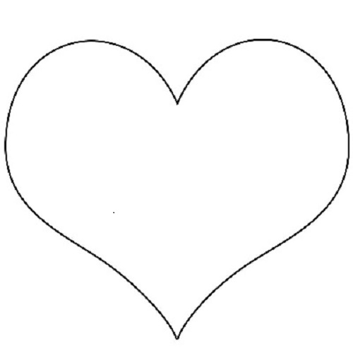 Kalp Sablonlari Eglen Bizle