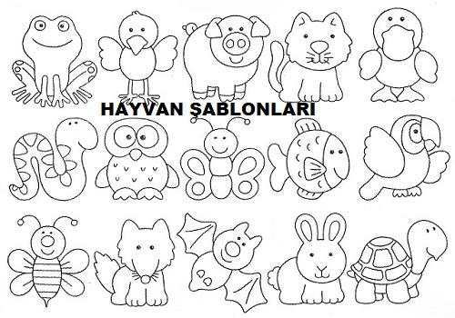 Hayvan Boyama Sayfalari Eglen Bizle