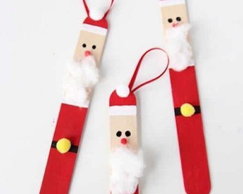 Dondurma Cubugundan Noel Baba Yapimi Eglen Bizle