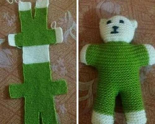 Ayı Teddy Yapımı Amigurumi - #1 (Crochet Amigurumi Teddy Bear ... | 400x500