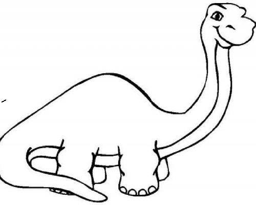 Dinozor Boyama Sayfasi Eglen Bizle