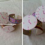 Tuvalet Kağıdı Rulosu ile Saat Yapımı