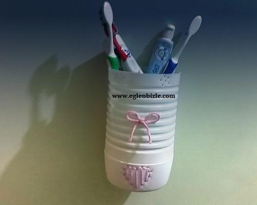 Evde Diş Fırçalık Yapımı