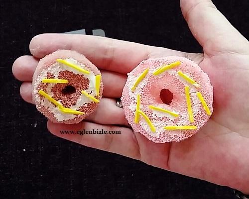 Sünger ile Donut Yapımı