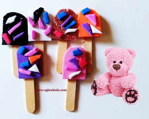 Minyatür Çubuklu Dondurma Yapımı