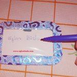 Minyatür Yazı Tahtası Yapımı