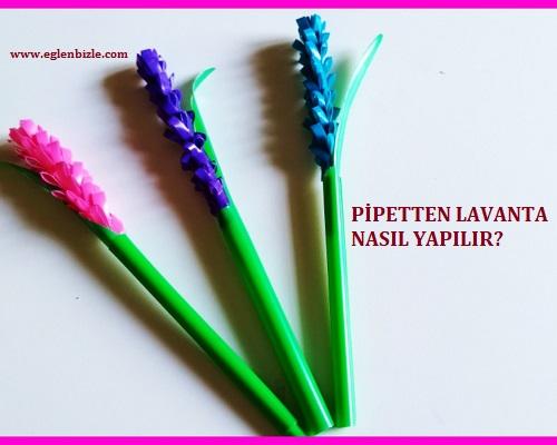 Pipetten Lavanta Nasıl Yapılır