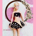 Çocuk Taytından Barbie Kıyafet Yapımı